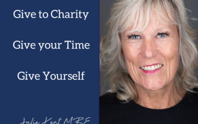 Give to Charity. Give your Time. Give Yourself.